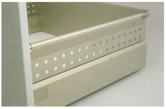 Standard Drawer Box with Steel Side Panel